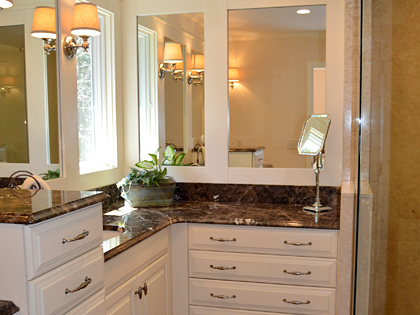 Bathroom renovation in Bucks County, PA.